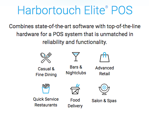 Harbortouch Pos Systems Pos Solutions For Any Business Type