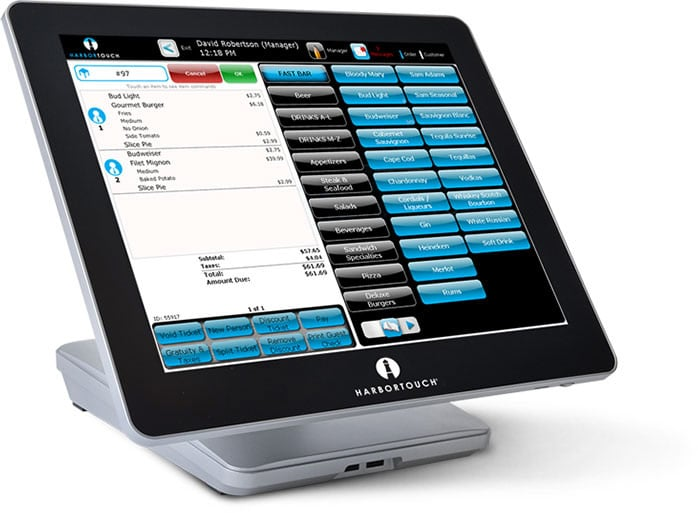 Harbortouch Bar and Restaurant POS Systems Florida