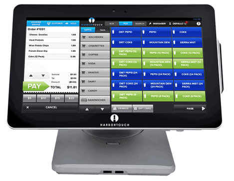 Harbortouch Echo POS System for Small Business - Florida POS Systems